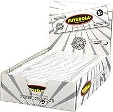 25pc Display - Futurola Medium Rolling Papers - 1 1/4