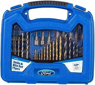 Ford Tools Mix Drill Bits Set, FHT0832, 75 Pieces