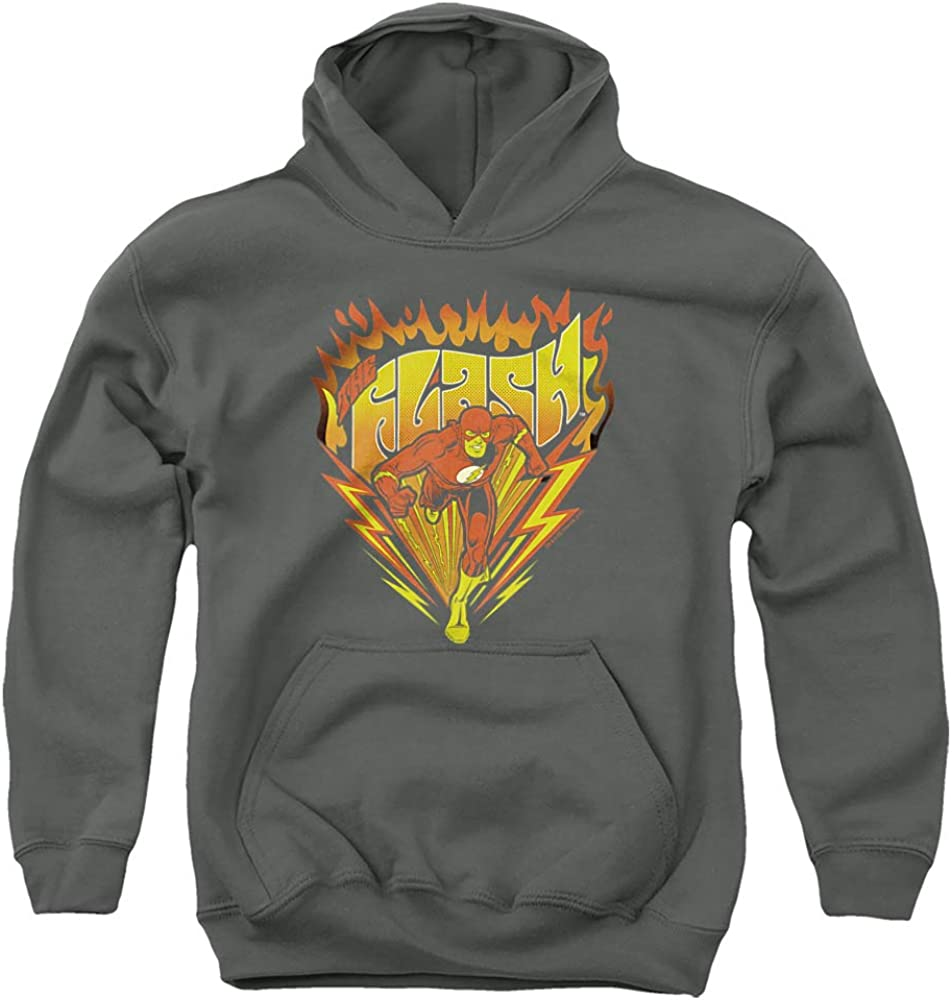 DC Flash Max 84% OFF Blazing Speed Pull-Over Unisex Hoodie Youth cheap