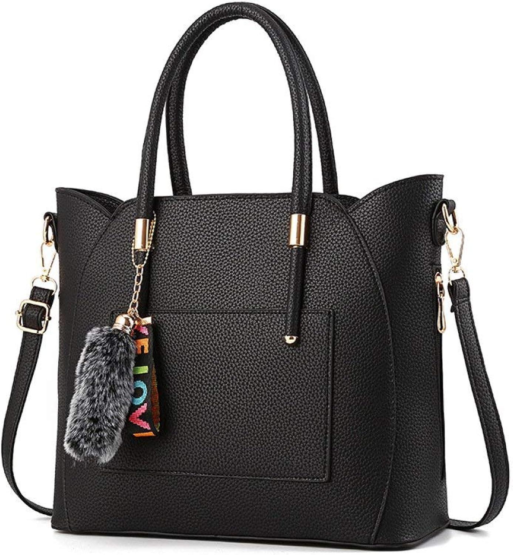 Huasen Evening Bag Female Shoulder Bag CrossBody Bags Creative Elegant Messenger Bag Handbag Party Handbag (color   Black, Size   321327cm)