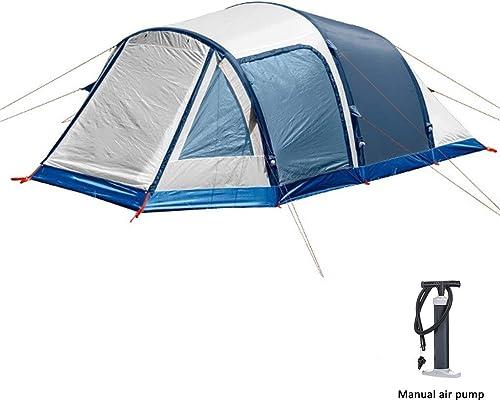 QZZQ Pop up Tente Gonflable Tente, 3-4 Personnes énorme Ménage De Plein Air Camping avec Pompe à Air Tente de Plage