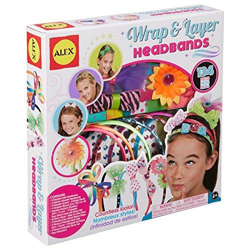 Alex DIY Wear Wrap and Layer Headbands Kids Art and Craft Activity