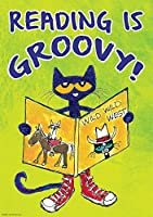 PETE THE CAT READ IS GROOVY POSTER