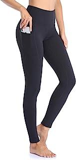 Ollrynns Leggins Deportivos Mujer CinturaAlta Pantalones Deportivos Mallas Leggings con Bolsillos paraRunningTraining F...