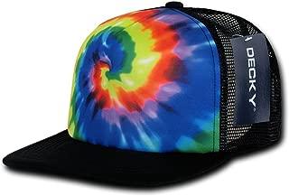 Tie Dye Print Trucker Cap, Rainbow