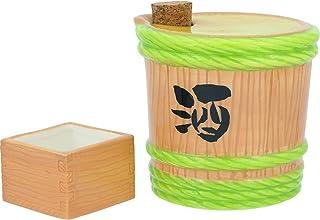株式会社サンアート 徳利 樽と升 420ml おもしろ食器 「樽から注ぐ」 とっくり・おちょこ セット SAN3017