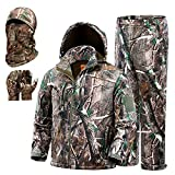 NEW VIEW Hunting Clothes for Men,Silent Water Resistant Hunting Suits Turkey Hunting Jacket and Pants