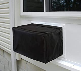 Yesland Window Air Conditioner Cover - Bottom Covered - AC Cover with Adjustable Straps