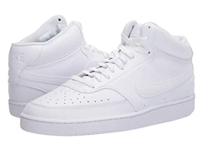 Nike Court Vision Mid (White/White/White) Men