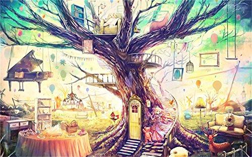 Yobooom Puzzle 1000 Teile für Erwachsene Das Zuhause des Herzens eines Mädchens