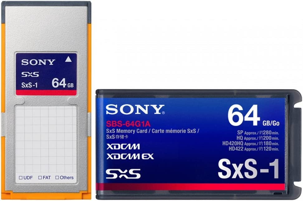 Sony - SBS-64G1A - Sony SxS-1 Memory Card (64 GB)