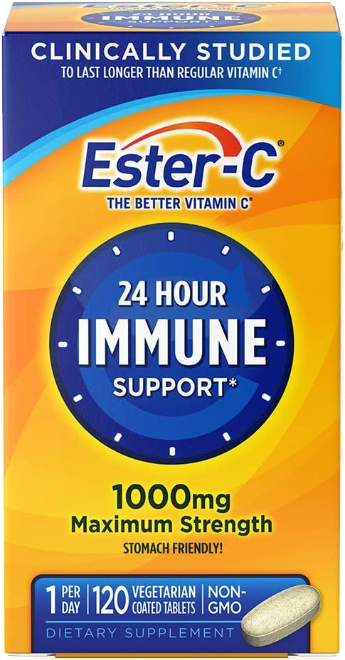 Ester-C Vitamin Department store C 1 000 Coated 40% OFF Cheap Sale mg 120 Tablets