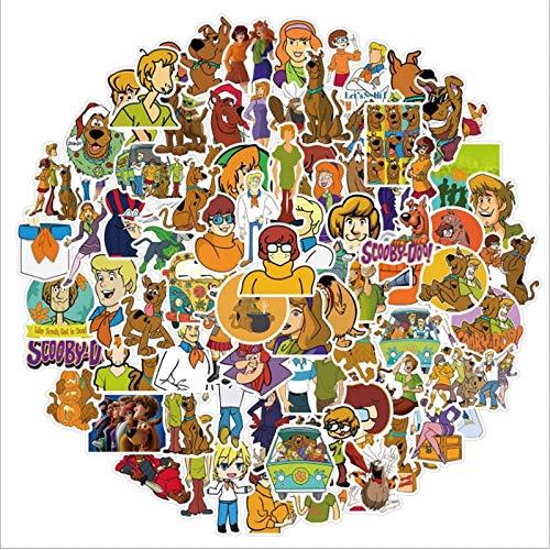 ZZHH 100 Uds, Película de Comedia, Graffiti, monopatín Impermeable, Maleta de Viaje, teléfono móvil, Equipaje, Pegatinas, Lindos niños y niñas