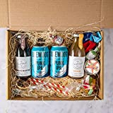 Premium Cocktail Gift Box - Cocktail and Beer Thoughtful Box - Ready To Drink - Just Add Ice, Shake and Serve For The Perfect Bar Made Cocktail