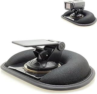 AccessoryBasics Car Dashboard Platform Beanbag & Suction Cup Mount for Radar Detector Escort Passport 9500 Max 360 Redline EX iX S4 Uniden R1 R3 R7 R8 DFR7 RAD Radenso XP SP Whistler Cobra ESD XRS SPX