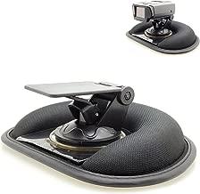 AccessoryBasics Car Dashboard Platform Beanbag & Suction Cup Mount for Radar Detector Escort Passport 8500 9500 Max S55 X80 Redline EX iX S4 Beltronics Uniden R1 R3 R7 DFR7 Whistler Cobra ESD XRS SPX