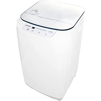 kapas kps35-735h2 upgraded compact washing machine, fully automatic 2-in-1 washer and spin dryer machine build-in pump and long hose, 8 lbs. capacity 8 lbs. top load tub washer
