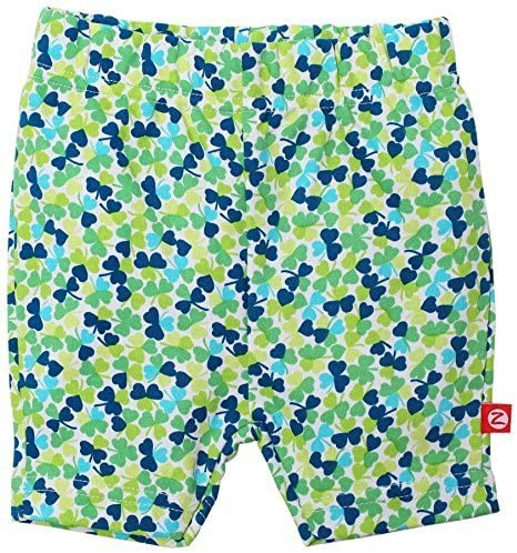 Zutano Lucky You Bike Shorts (Baby) - Multicolor-6 Months