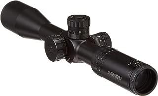 Lucid Optics MLX Rifle Scope, 4.5-18X44, 30mm, MLX Etched Glass Reticle, Black Finish L-MLX-451844