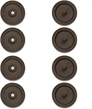 8pc Safety Car Safety Stopper Spacing Limit Buckle Clip Retainer Seatbelt Stopknop (Color Name : Brown)