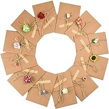 NUOBESTY 60 Pcs Beau Papier /à Lettres Mignon avec 30 Pcs Enveloppes Impression Fleur Motif Invitation Lettre Ensemble Papier /à Lettres pour La F/ête de Mariage