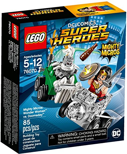 LEGO 76070 Minifigures Wonder Woman - Mighty Micros Minifig Minifigs Super Heroes Mini Action Figure DC Comics