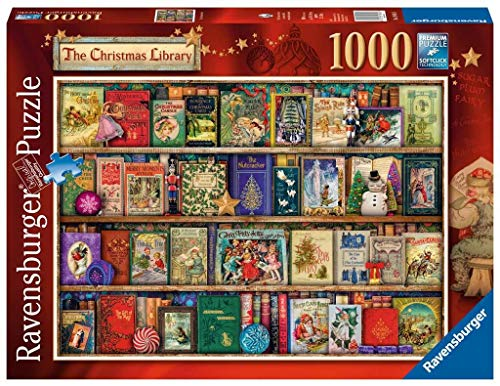 Ravensburger Puzzle, Motiv: Weihnachtsbücherei, 1000Einzelteile