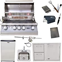 Best 32 inch drop in gas grill Reviews