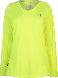 Karrimor Womens Long Sleeve Running T Shirt Ladies