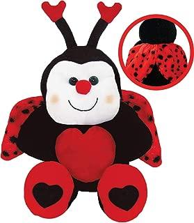 Pelúcia Joaninha Dengosa Soft Toys 30 cm