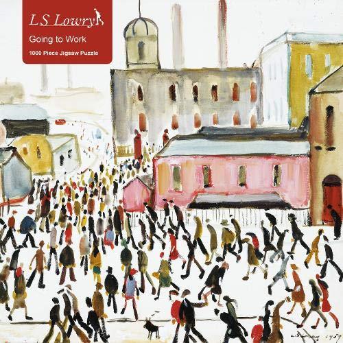 L. S. Lowry - Going to Work Jigsaw: 1000 Pieces: 1000-piece Jigsaw Puzzles