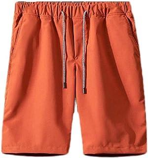 MogogN Mens Drawstring Summer Relaxed Pocket Athletic-Fit Swimsuit Swim Trunks
