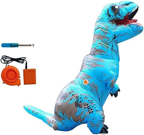 están haciendo actividades de descuento 8HAOWENJU Dinosa Inflable, Dinosaurios inflables, Traje de Dinosaurio Inflable, Inflable, Inflable, Traje de Dinosaurio, Ropa Inflable, Diversión, Ropa Diverdeida Durabilidad. ( Color   azul )  Venta en línea precio bajo descuento