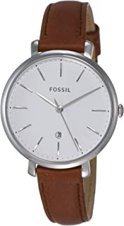 Fossil Womens Quartz Watch, Analog Display and Leather Strap ES4368