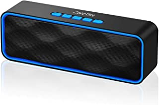 ZoeeTree S1 Altoparlante Bluetooth Portatili, Cassa Bluetooth con Audio HD e Bassi Potenziati, Speaker Doppio Driver con R...