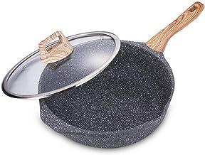 JBJWM Cooks Standard Steel Stir Fry Pan With Dome Lid Multi-Ply Clad Wok