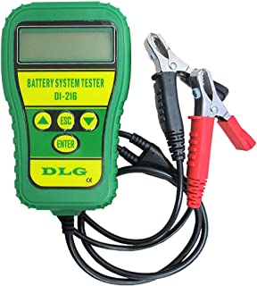 DLG DI-216 Automotive Battery Tester Vehicle Car Battery System Analyzer Diagnostic Tool