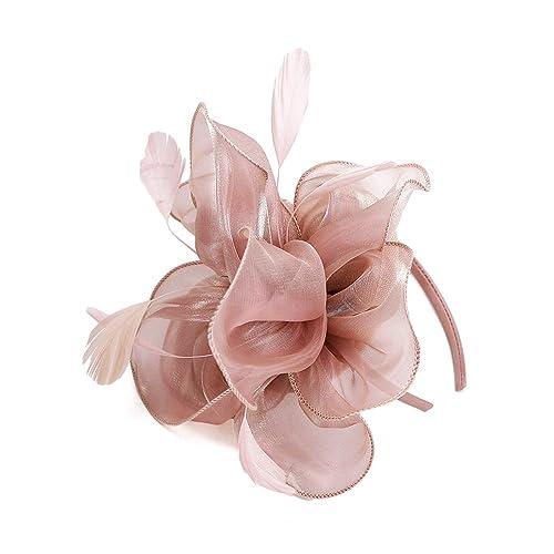 11046f76a Baby Pink Fascinator: Amazon.co.uk