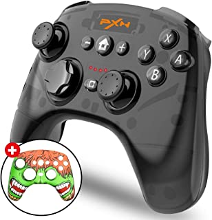 BEBONCOOL Wireless Pro Controller for Nintendo Switch, PXN Pro Remote Controller Gamepads with Adjustable Shock Function