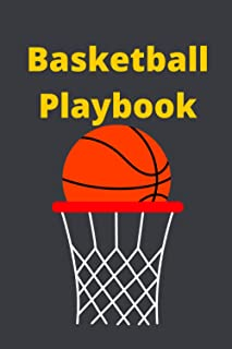 Basketball Playbook: Basketball Coach Playbook for beginners and professional | 120 Blank Basketball Court Diagrams for Dr...