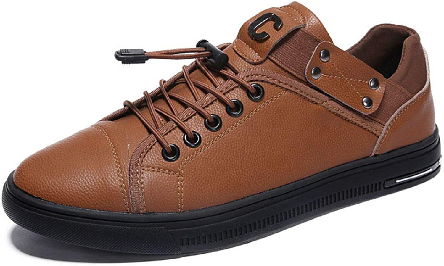 Leather shoes, Leather Retro Casual shoes, Men