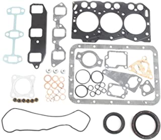 3TNE68 3D68E Engine Gasket Kit - SINOCMP Excavator Parts for Komatsu Mini Excavator Wheel Loader Yanmar Engine, 3 Month Warranty
