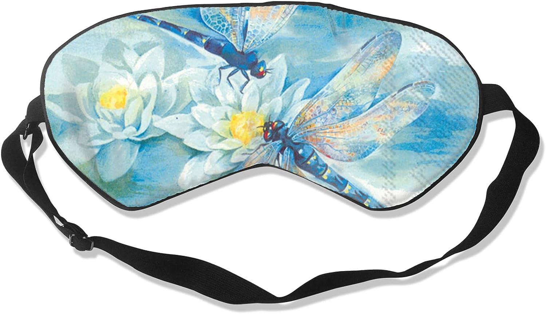 VVEGACE Dragonfly Sleep Eye Easy-to-use Mask Light Boston Mall Sof Blocking