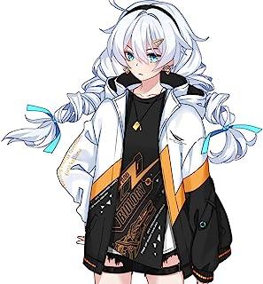 MZYSTJ Honkai Impact 崩壞キアナ カスラナ 印象セット コスプレ衣装 男女兼用 春夏服 (コート,M)
