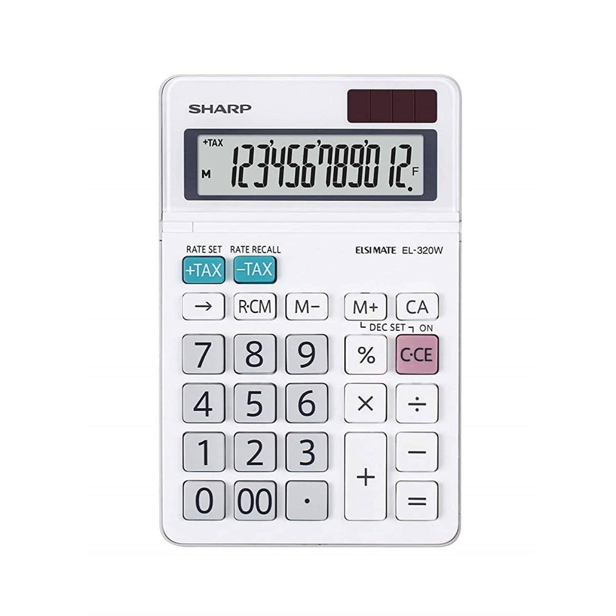 等金貸し必需品Sharp EL-320W デスクトップ電卓 EL320 White [並行輸入品]