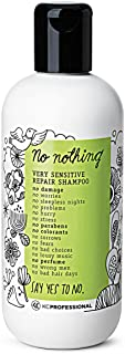 100% Vegan Repair Shampoo - Very Sensitive Hypoallergenic Shampoo Cleanses and Repairs Weak and Damaged Hair - Allergen Free, Fragrance Free, Paraben Free, Gluten Free, Unscented 10.15 oz