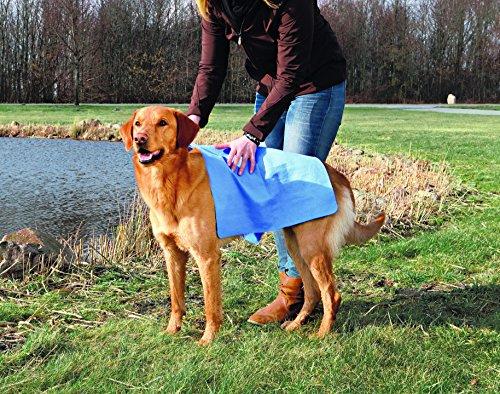 Trixie 23375 Handtuch, 66 × 43 cm, blau - 2