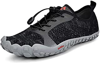 Tanloop Trail Running Shoes Lightweight Outdoor Hiking Shoes Cross-Trainer Barefoot Shoes for Men Women
