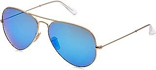 RB3025 Aviator Flash Mirrored Sunglasses