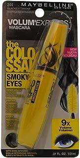 Maybelline Volum `Express The Colossal Smoky Eyes Mascara, 244 Blackest Black